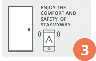 Enjoy the convenience of STAYmyway